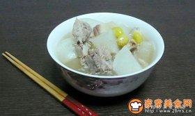 螺肉白果龙骨汤