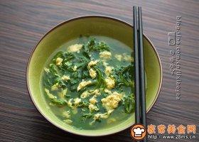 菊花脑蛋汤