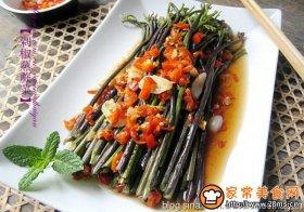 剁椒蒸蕨菜