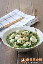 荠菜烩鲜蘑