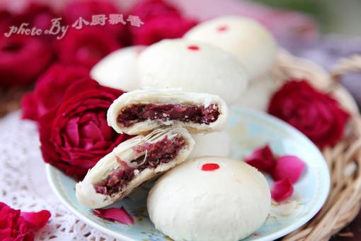 四合饼制作方法-玫瑰鲜花饼的做法