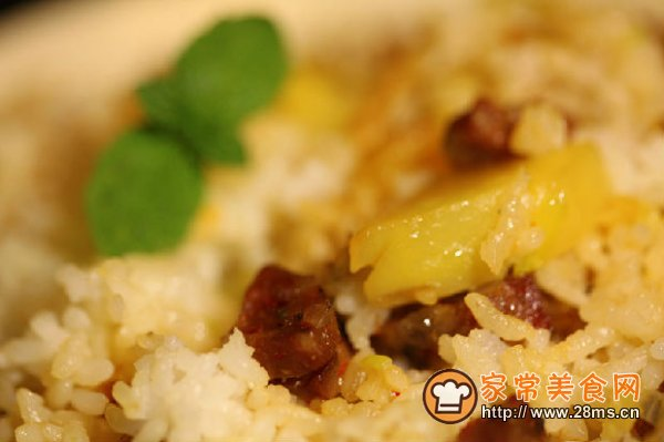 土豆焖饭的做法