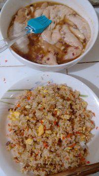 鸡翅包饭(烤箱版)的做法步骤4