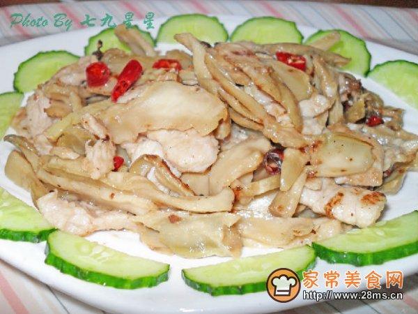 自制肉片炒猪蹄的做法_做自制榨菜炒人流肉片后能吃榨菜汤吗图片