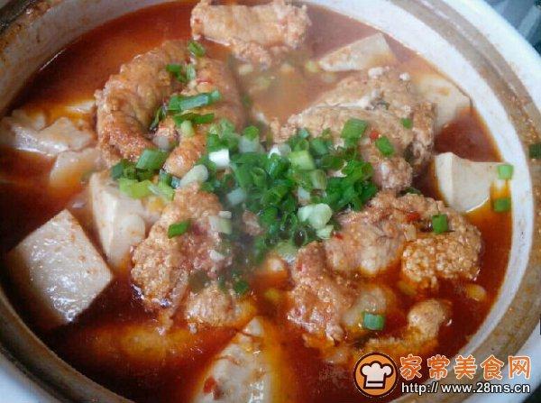 鱼籽豆腐煲的做法