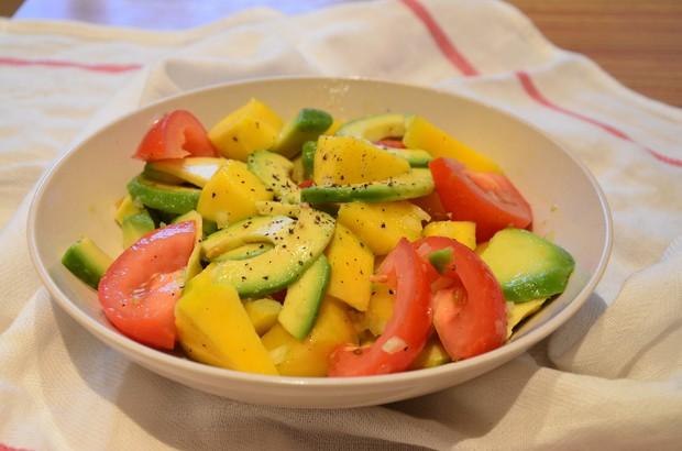 牛油果芒果沙拉的做法
