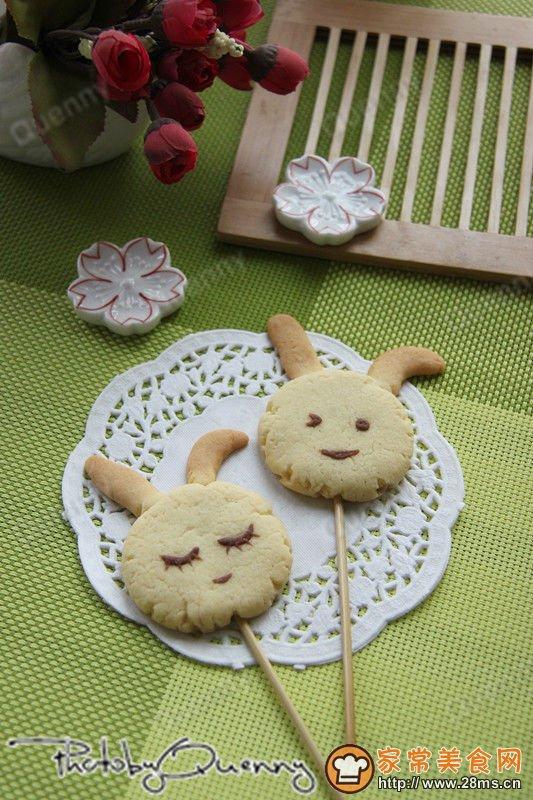 可爱小动物饼干棒的做法