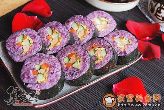 寿司制作步骤图片