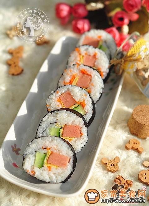 寿司的做法_怎么做寿司