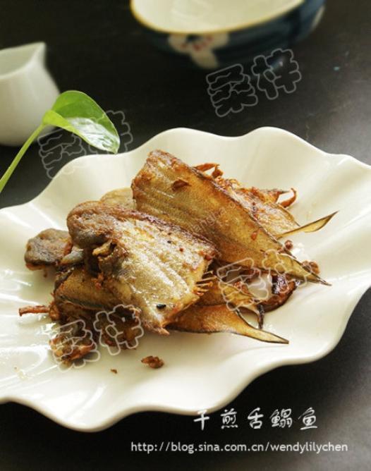 干煎舌鳎鱼的做法