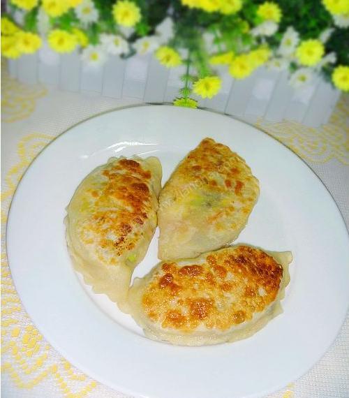五彩北瓜月牙馅饼的做法