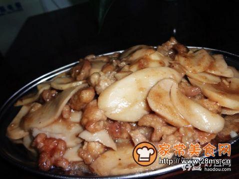 瘦肉炒杏鲍菇