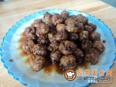 红烧香菇肉丸