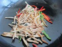 黄花菜木耳肉丝的做法步骤8