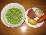 五彩小炒―宝宝美食的做法步骤1