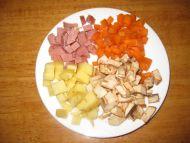 五彩小炒―宝宝美食的做法步骤2