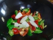 辣椒炒牛肉的做法步骤6