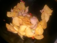 干锅土豆片的做法步骤7