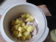 土豆排骨粥的做法步骤5