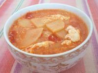 土豆番茄鸡蛋汤的做法步骤8