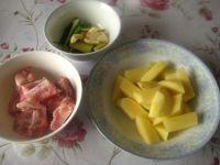 土豆炖排骨的做法步骤1