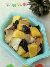 菠萝杏鲍菇的做法步骤11