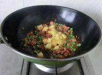 豌豆菠萝鸡丁的做法步骤8