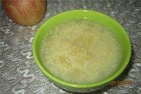 苹果小米粥的做法步骤10