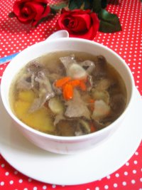西洋参猪心汤的做法步骤12