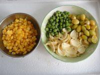 百合白果粟米粒的做法步骤1
