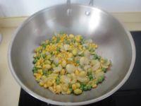 百合白果粟米粒的做法步骤4
