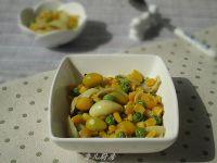 百合白果粟米粒的做法步骤7