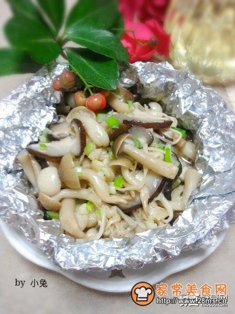 锡纸香烤杂菇