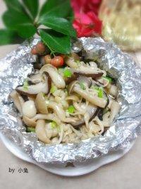 锡纸香烤杂菇的做法步骤7