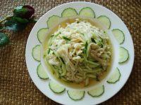 凉拌金针菇黄瓜的做法步骤10