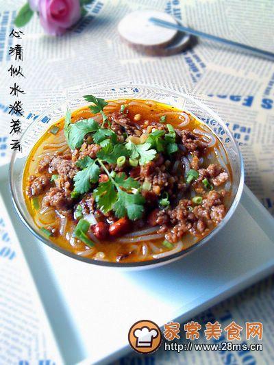 【杂酱酸辣粉】————————让麻、辣、鲜、香挑逗你的味蕾的做法