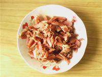 青椒海带肉丝的做法步骤2