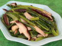 香菇油麦菜的做法步骤7