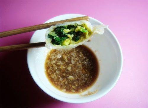 【2011年菜展】菠菜鸡蛋素水饺的做法