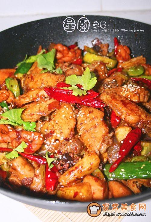 【四川天府之都的美味】香辣干锅鸡翅的做法