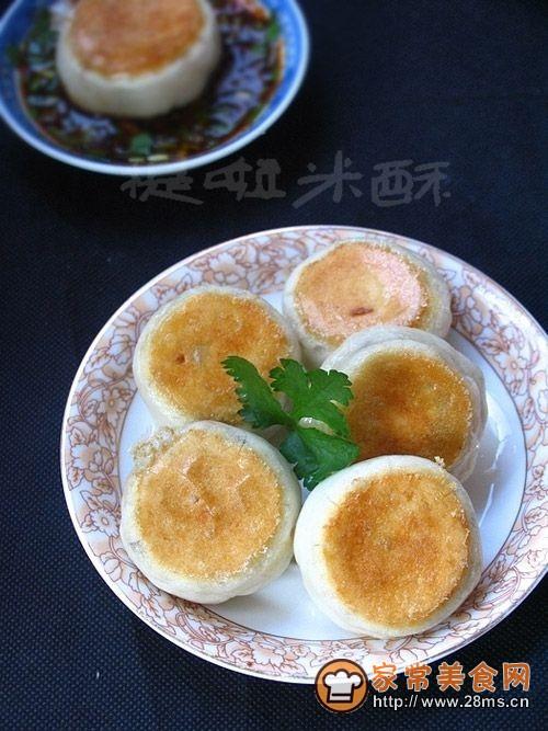豆浆用吃的――豆浆素馅水煎包的做法