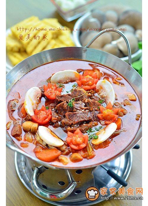 中西合璧的火锅吃法---香草红酒牛肉火锅的做法