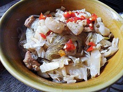 【菜谱换礼2】之九 酸菜粉条炖肉的做法