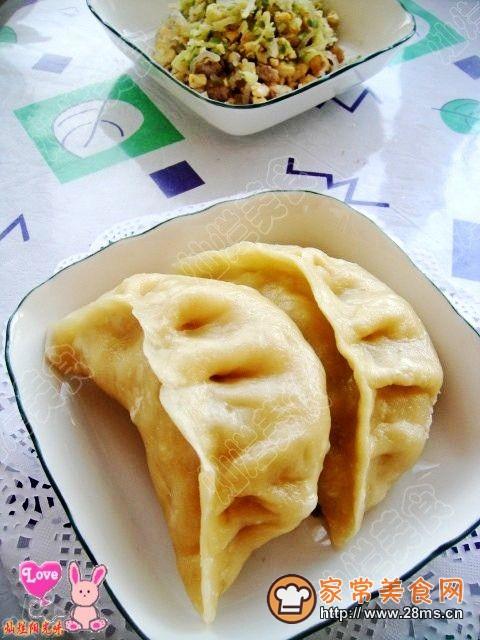 猪肉与豆腐的完美结合--猪肉豆腐蒸饺的做法