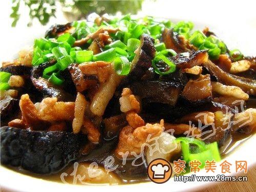 [美食家主题赛--第三季]肉丝海参的做法
