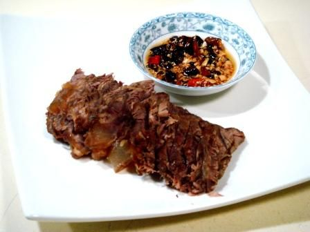 """【2011年菜展】家庭版月盛斋风味""""酱牛肉、卤羊肉""""的做法"""
