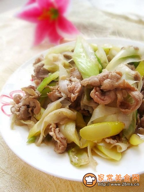 【菜谱换礼2】葱爆羊肉的做法