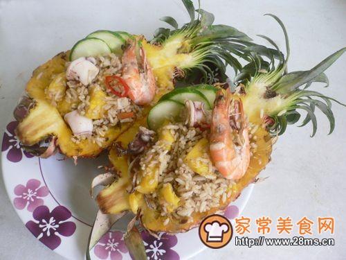 泰式黄梨炒饭的做法