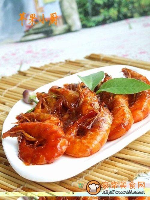 酸辣风味虾的做法