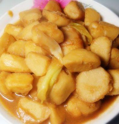 红烧芋头的做法